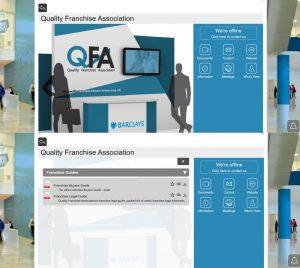 Virtual Franchise Exhibition